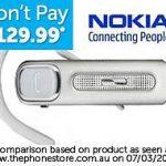Nokia BH607 Bluetooth headset